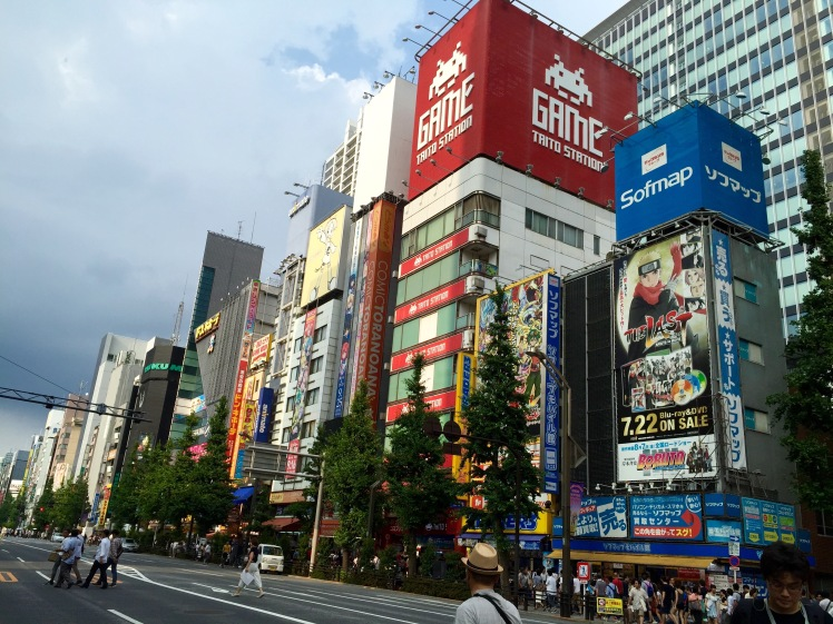 Anime Mecca in Akihabara