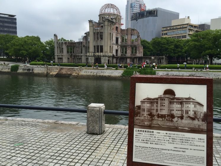Photo of the Atomic-Bomb Dome (formerly the Hiroshima Prefectural Products Exhibition Hall)