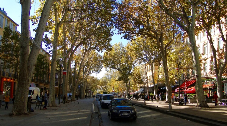And this is a photo I took in Aix-en-Provence two years ago