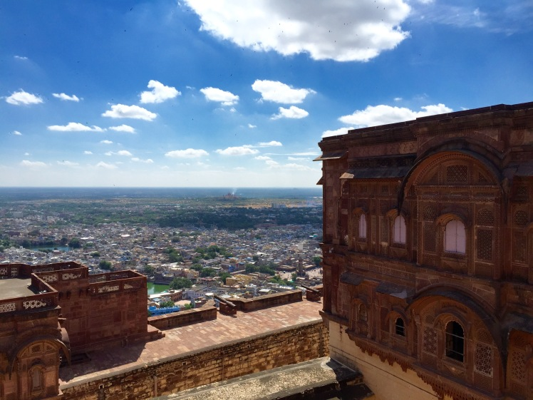 View of the city from the Mehrangarh Fort