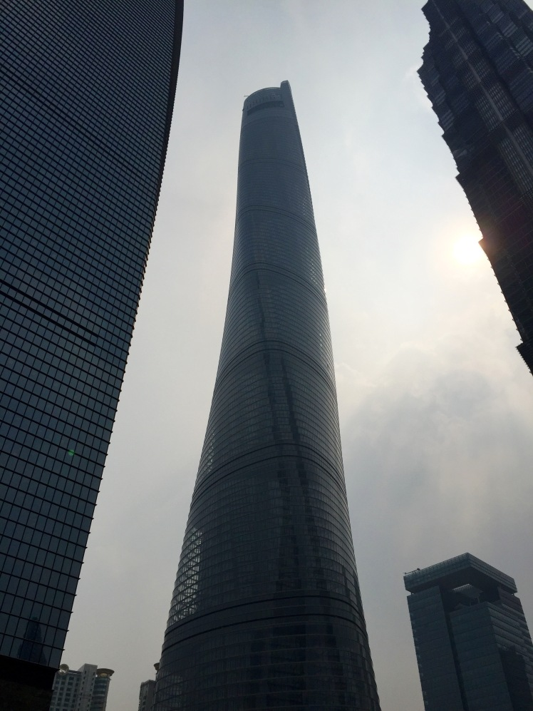 The aforementioned Shanghai Tower stands at 2,073 feet, the second tallest building in the world currently.
