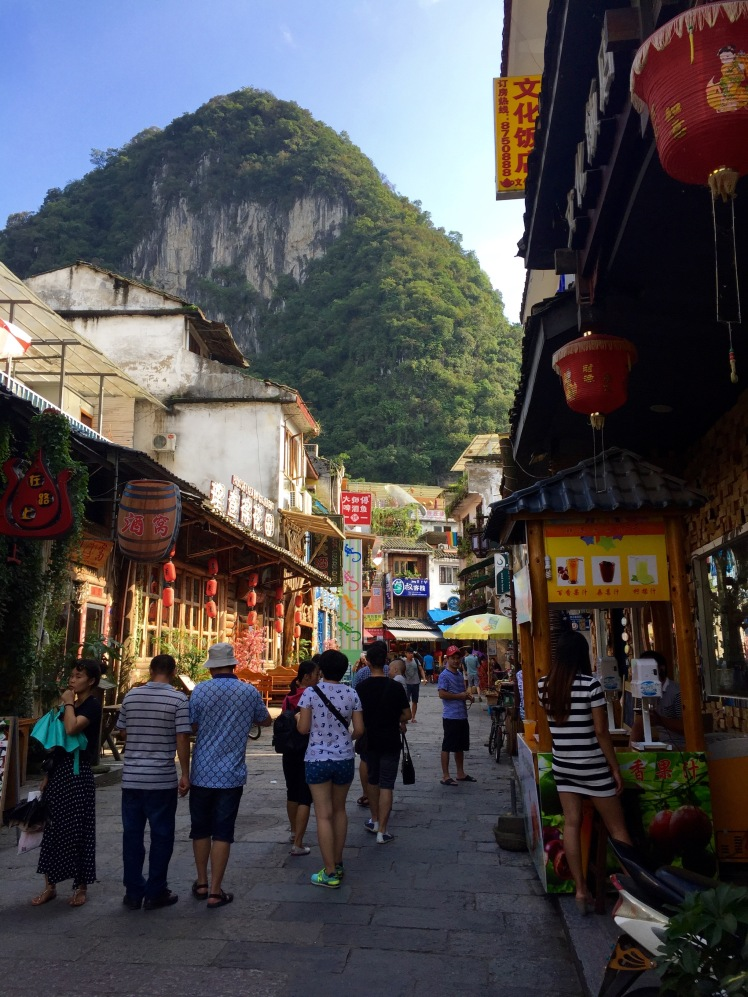 The crappy side of Yangshuo