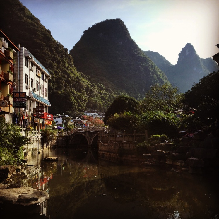 The more scenic side of Yangshuo