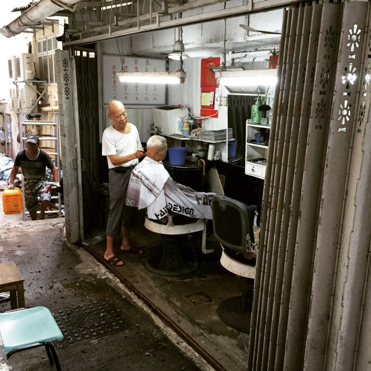 Hidden on a small side street, this tiny barber shop has been in operation for more than 50 years