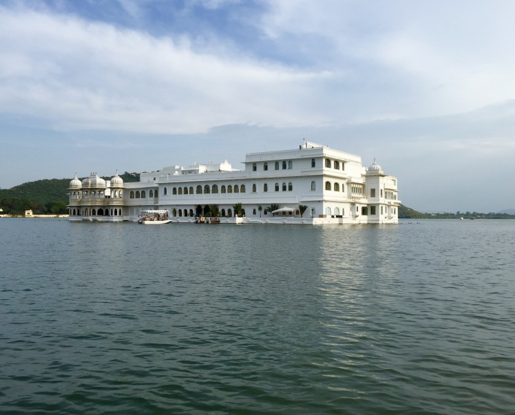Lake Palace Hotel, featured in one of the more tragically named James Bond's,