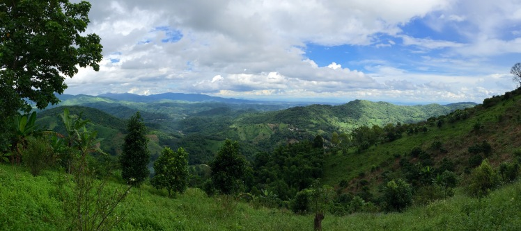 Golden Triangle area, north of Chiang Rai