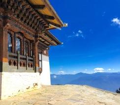 Lungchutse Monastery, outside Thimphu