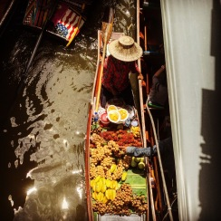 Damnoen Saduak Floating Market, just outside Bangkok