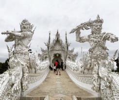 Wat Rong Khun, outside Chiang Rai