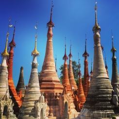Shwe Indein Pagoda, Inle Lake