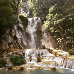 Kuang Si Waterfall, outside Luang Prabang