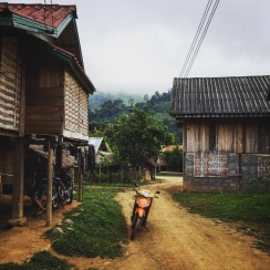 Highland Lao village, outside Luang Prabang