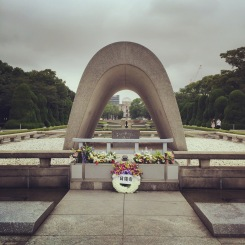 Memorial Cenotaph, Hiroshima Peace Memorial Park