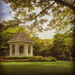 Gazebo at the Singapore Botanic Gardens