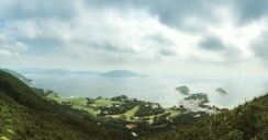 View of Shek O from the Dragon's Back Trail