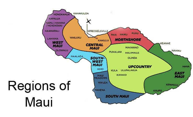 MapofMaui_regions